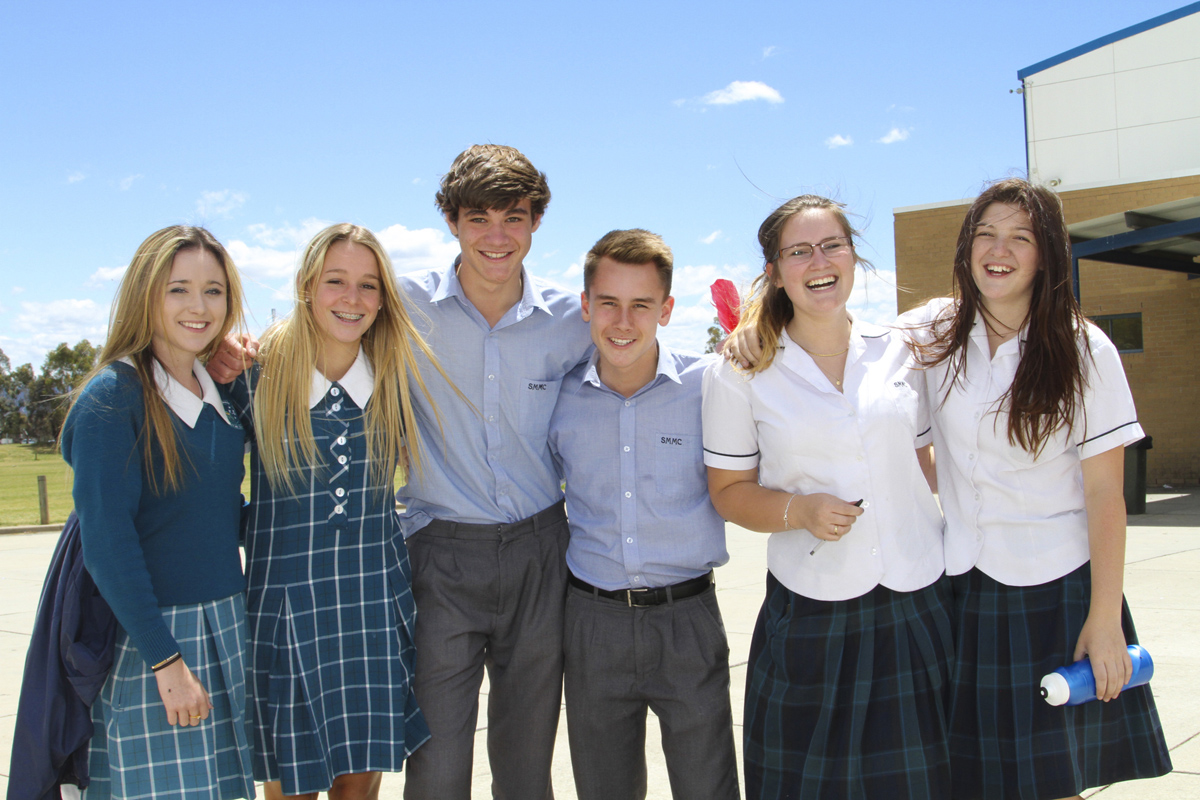 Students love MacKillop!