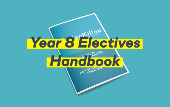 Year 8 Electives Booklet